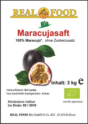 Bio-Maracujasaft Bag-In-Box
